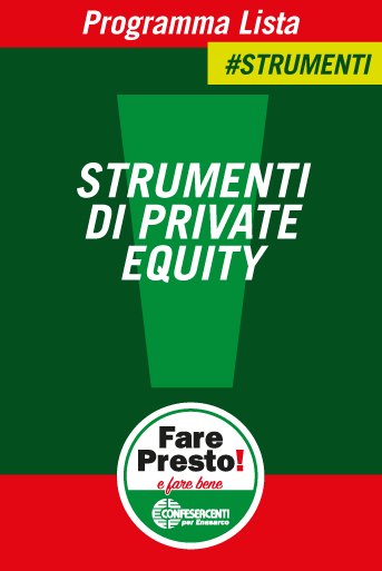 STRUMENTI DI PRIVATE EQUITY